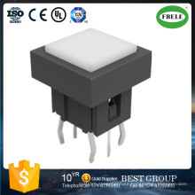 White Color Switch Rotary Selector Switch Lamp Holder with Switch