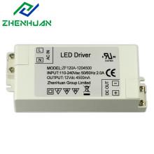 54W 12V 4500mA DC Output Led Drivers Transformer