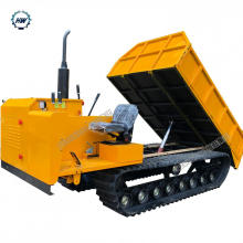 Caminhão basculante da trilha Dupmer 5T Capacidade rastrear
