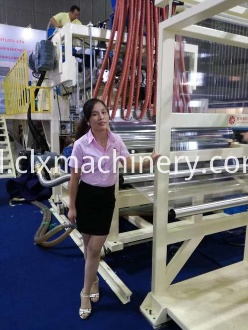 CL-7010070A LLDPE Film Machinery