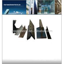 elevator guide rail, elevator guide rail shoes