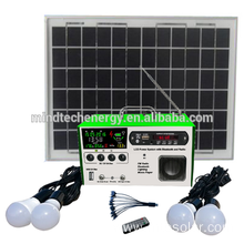 new solar lighting kit with LCD screen and fm radio