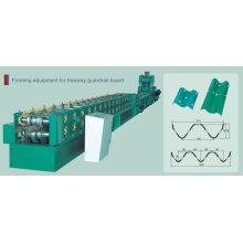 Автоматическая машина для производства профильных ограждений автомагистралей PLC