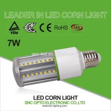 Energy saving CFL MHL HPS HID replacement E27 7w led corn bulb corn lamp