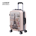 Cartoon Cute Lovely Children Luggage Trolley Suitcase Bags