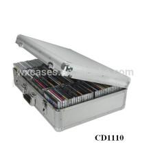vendas por atacado melhor vendedor CD 120 discos (10mm) alumínio CD DVD caixa de armazenamento