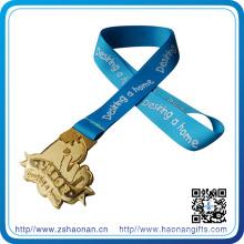 Sport Award Silk Screen Printing Medals Ribbon, Medal Ribbon for Souvenir