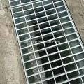 Trench Drain Cover Galvaniserad Steel Grating