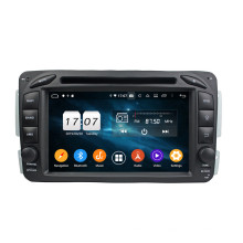 Unidade central Android Mercedes Benz C classe W203