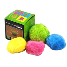 customized pet plush Sweeping robot automatic vacuum cleaner plush electric pet cat dog Magic Roller  ball toy