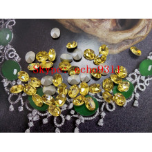 Light Topaz Point Back Crystal Stones Fancy Rhienstones for Wholesale
