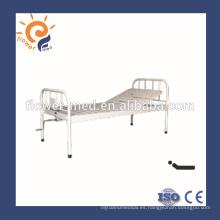 CE certificación ISO solo metal cama médica