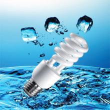 Lampe économiseuse d'énergie de demi-spirale de 15W 18W avec CFL (BNFT2-HS-E)