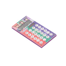 8 chiffres Dual Power Pocket Gift Calculator