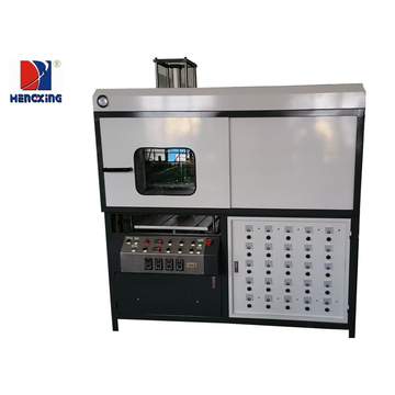 Automatic furnace plastic tray vaccum forming machine