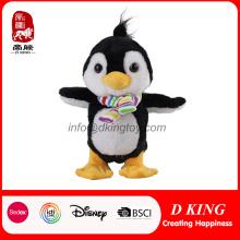 Personagem de felpa para crianças de pelúcia animal brinquedo de pelúcia pinguim