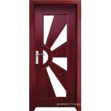 Porte en verre en PVC (WX-PW-185)