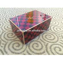 high quality spanish cedar wooden cigar box