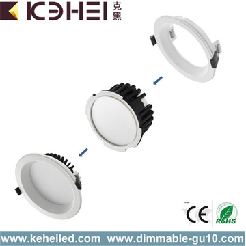 Downlights empotrables LED de retroinstalación de 4 pulgadas 12W 15W