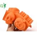 Molde flexible de la torta de la calabaza de los utensilios para el hogar del silicón