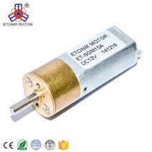 12v mini motor cepillado de corriente continua 1000rpm
