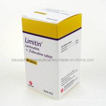 Tablet de Lamivudina + Zidovudinum de tratamento de HIV