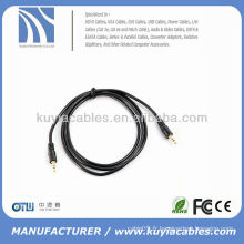 Câble audio stéréo mâle mâle 3,5 m 3,5 mm pour iPod MP3 DVD PC