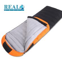 Realsport alta qualidade militar saco de dormir de inverno à prova d 'água tecido saco de dormir de viagem