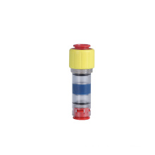 Plastic microduct 5mm gas-tight block connector