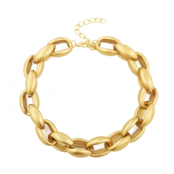 Hip Hop Exaggerates Simple Retro Pop Plastic Jewellery+Big Chain Necklace Jewelry+Mens Cuban Link Chain
