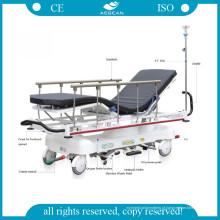 ISO do uso do hospital AG-Hs001 & maca hidráulica aprovada do CE