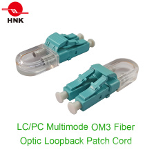 LC / PC Multimode Om3 Fibre Optique Loopback Patch Cord