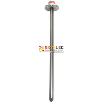 Calefator tubular 380V 3.5kw titanium com flange
