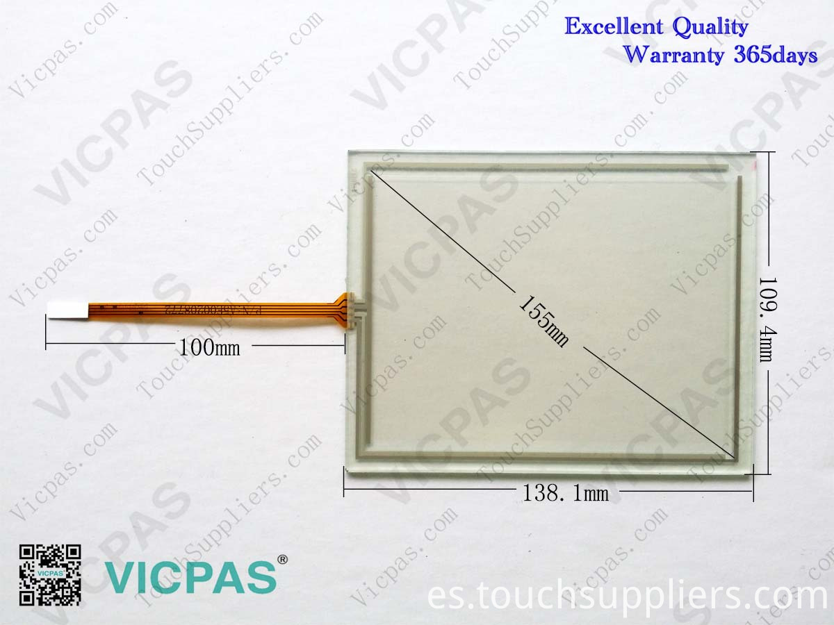 Touchscreen 6AV6640-0CA11-0AX1 TP177 MICRO Touch Screen Panel glass