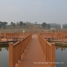 Waterproof Long Lasting Terrace Landscape Wholesale WPC Wood Plastic Composite Railing