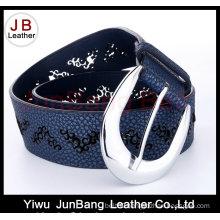 Fashion PU Leather Punching Belt for Woman