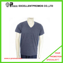 Cheap V Neck Promotional T Shirt (EP-S1012)