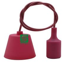 Ceiling Lighting E27 Plastic Pendant Lamp