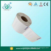 Direct thermal shipping logistic label thermal label , thermal label