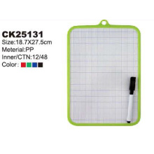 PP Stationery White Board with erasable marker