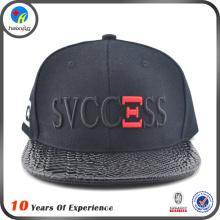 2016 custom embroidered flat brim snapback caps
