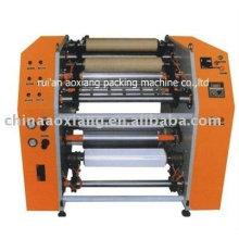 stretch film rewinding slitter line cutting machine