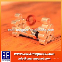 NICINI recubrimiento NEODYMIUM espesor anillo de forma de experimento o juguete / ndfeb imán forma de rollo para buena venta