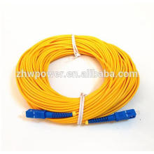 1.5-30meter SM SX 3mm 9/125 Волоконно-оптический соединительный кабель SC / UPC-SC / UPC Волоконно-оптический патч-корд, оптическая перемычка