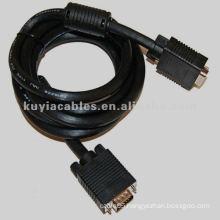 Projector SVGA VGA Monitor Cable M/M Black
