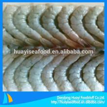 Crevettes congelées et congelées à vannamei, une large gamme de fruits de mer différents