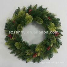 Artificial Christmas Wreath Different Sizes are Available
