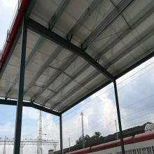 Parking Canopy Steel Structure Car Garage