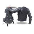 Motocross auto racing veste de protection armure de corps amovible armure arrière
