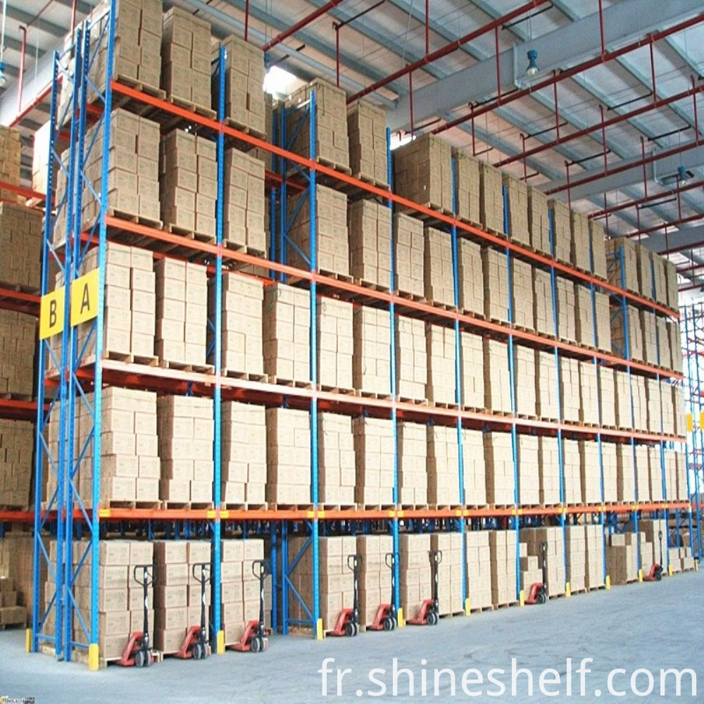Pallet Racking with 4 Beam Layers And 1 Ground floor